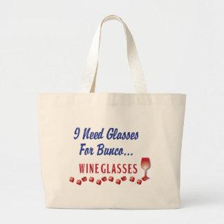 J'ai besoin des verres pour des verres de vin de b grand sac