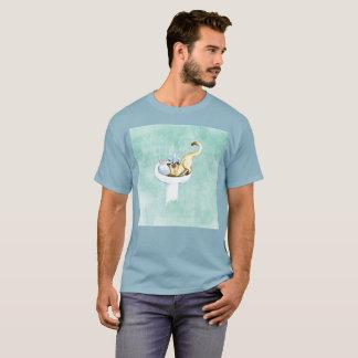 J'ai besoin du T-shirt rare d'aquarelle d'art de