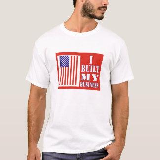 J'ai construit mon T-shirt politique de drapeau