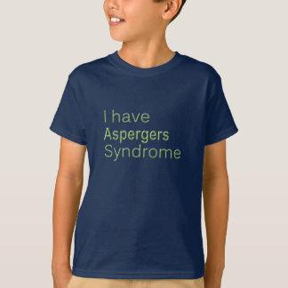 J'ai des aspergers - le T-shirt de l'enfant