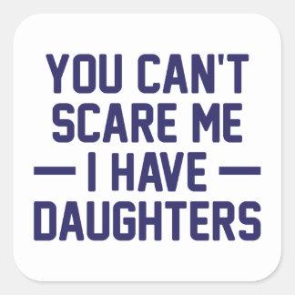 J'ai des filles sticker carré