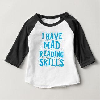 j'ai des qualifications de lecture folles t-shirt pour bébé