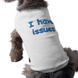 J'ai des questions - T-shirt de chien
