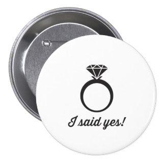 J'ai dit oui ! badges