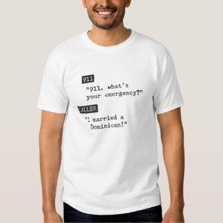 J'ai épousé un Dominicain T-shirts
