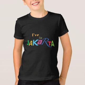 J'ai été au T-shirt d'enfants de Jakarta - de