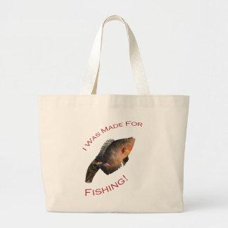 J'ai été fait pour la pêche sacs fourre-tout