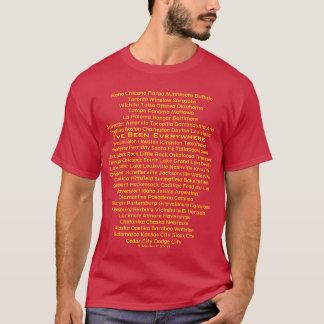 J'ai été partout - une chemise de MisterP T-shirt