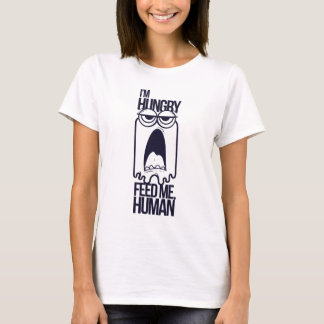 j'ai faim m'alimente humain t-shirt