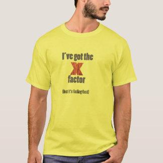 J'ai le T-shirt de facteur de X