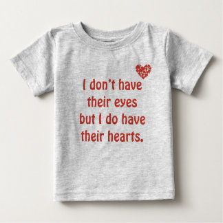 J'ai leurs yeux - T-shirt d'adoption