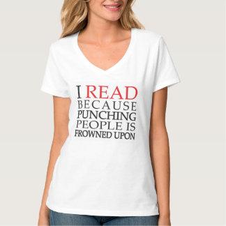 J'ai lu puisque des personnes de poinçon sont t-shirt