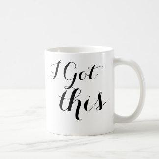 J'ai obtenu cette tasse