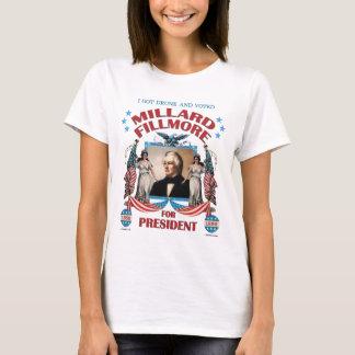 """""""J'ai obtenu Fillmore ivre et voté !"""" La chemise T-shirt"""