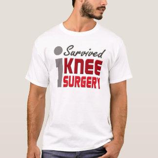 J'ai survécu à la chemise de chirurgie de genou t-shirt