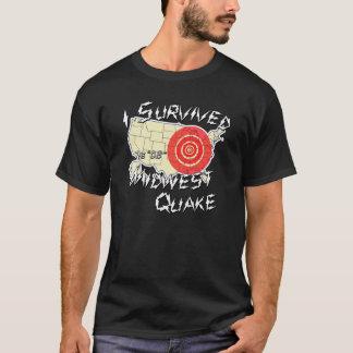 J'ai survécu à la chemise de tremblement de t-shirt