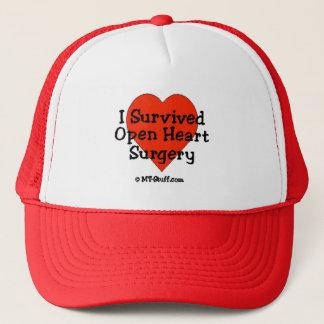 J'ai survécu à la chirurgie cardiaque ouverte casquette
