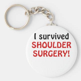 J'ai survécu à la chirurgie d'épaule porte-clés