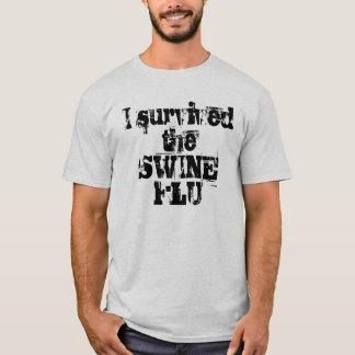 J'ai survécu à la GRIPPE de PORCS T-shirt