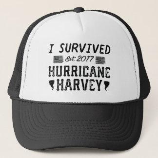 J'ai survécu à l'ouragan Harvey Casquette