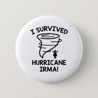 J'ai survécu à l'ouragan Irma Pin's