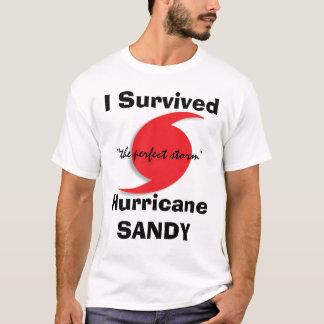J'ai survécu à SANDY T-shirt