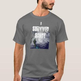 J'ai survécu à T des hommes de Sandy T-shirt
