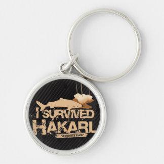 J'ai survécu au porte - clé de Hákarl Porte-clés