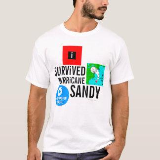 J'ai survécu au T-shirt 3 de signe de Sandy