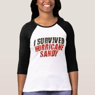 J'ai survécu au T-shirt affligé par Sandy