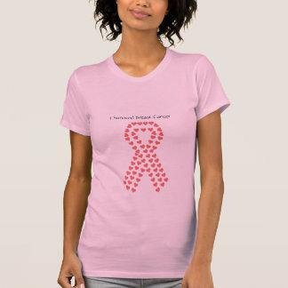 J'ai survécu au T-shirt de cancer du sein