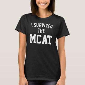J'ai survécu au T-shirt de MCAT