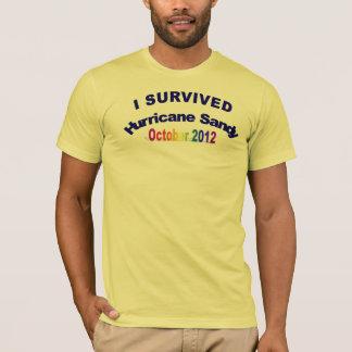 J'ai survécu au T-shirt de Sandy d'ouragan