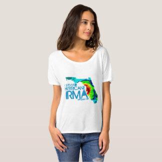 J'ai survécu au T-shirt des femmes d'Irma