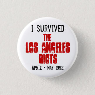 J'ai survécu aux émeutes de Los Angeles Badge