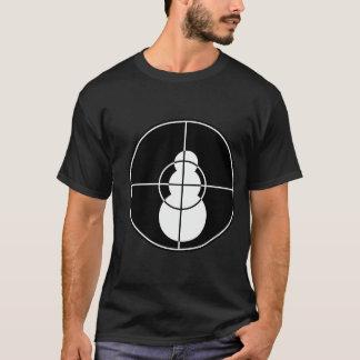 J'ai tiré ce T-shirt (noir) de bonhomme de neige