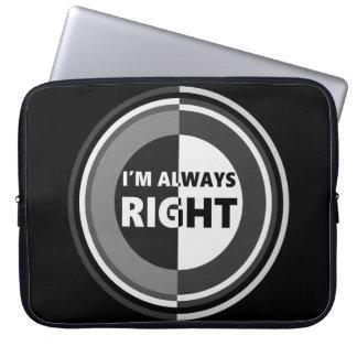 J'ai toujours raison housses ordinateur portable