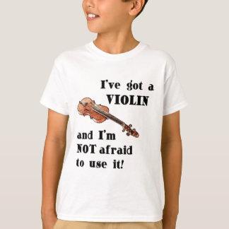 J'ai un violon t-shirt