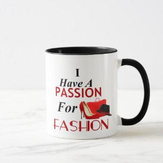 J'ai une passion pour la tasse combinée de mode