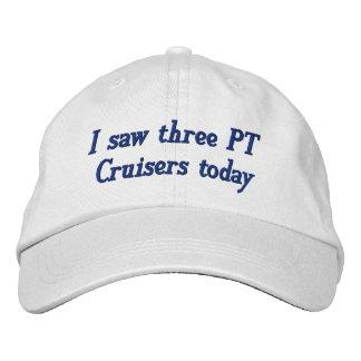 J'ai vu trois croiseurs de pinte aujourd'hui casquette brodée