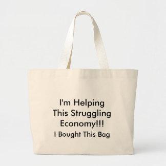 J'aide cette économie de lutte ! ! ! grand sac