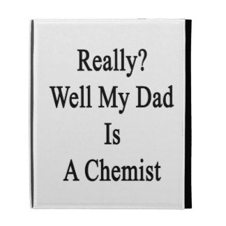 Jaillissent vraiment mon papa est un chimiste coque folio iPad
