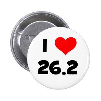 J'aime 26,2 badge