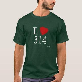 J'aime 314 St Louis T-shirt