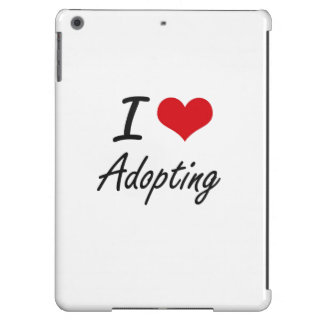 J'aime adopter la conception artistique coque iPad air