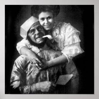 J'aime aimer un maçon, 1908 affiches
