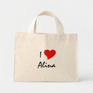 J'aime Alina I Sac De Toile