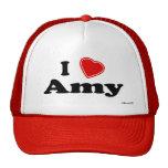 J'aime Amy Casquettes De Camionneur