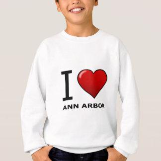 J'AIME ANN ARBOR, MI - MICHIGAN T-SHIRT
