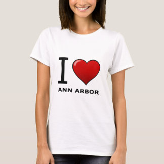 J'AIME ANN ARBOR, MI - MICHIGAN T-SHIRT